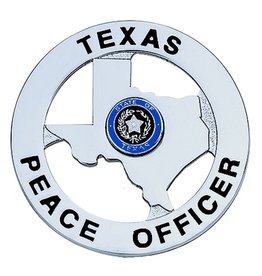 Hero's Pride Hero's Pride Star Texas Peace Officer - Silver