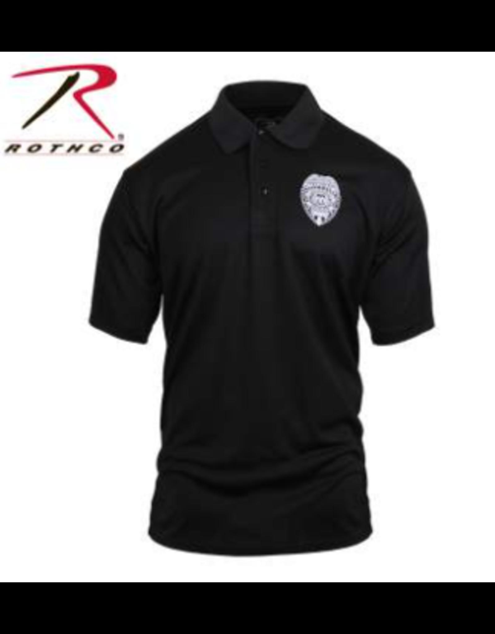 Rothco Rothco Moisture Wicking Polo Security Badge  2XL