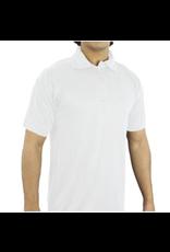 George White Polo Shirt Plain