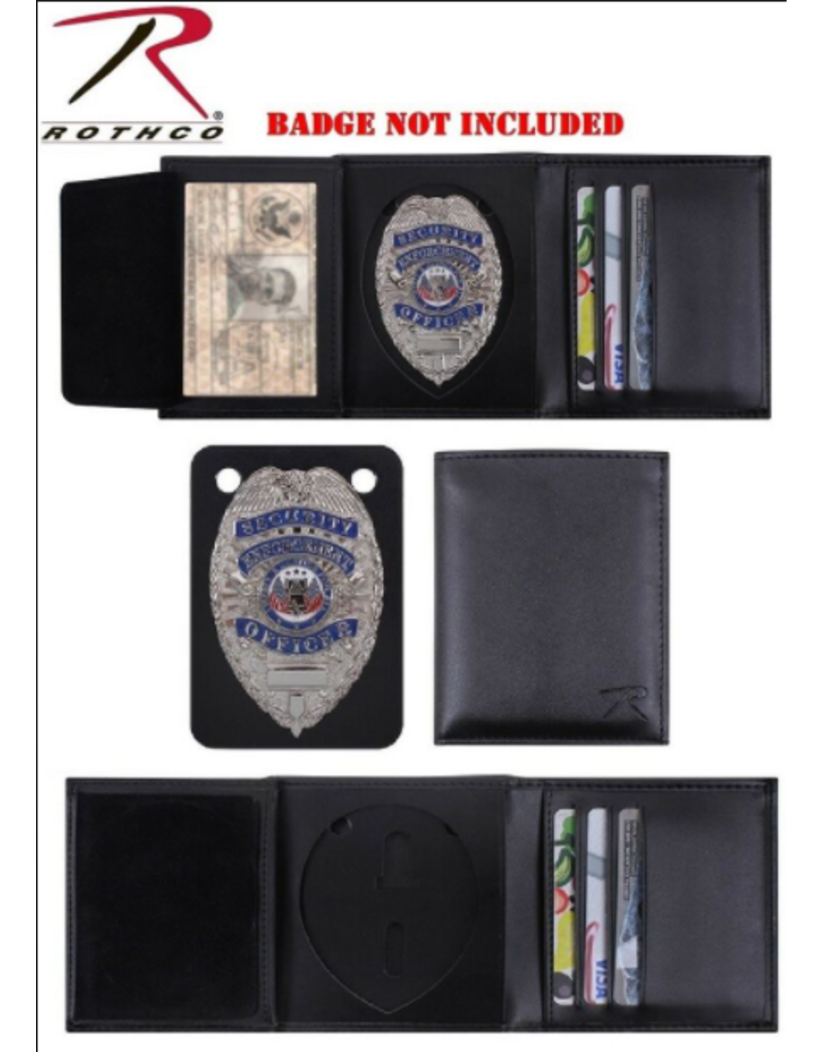 Rothco Rothco Leather Badge Wallet