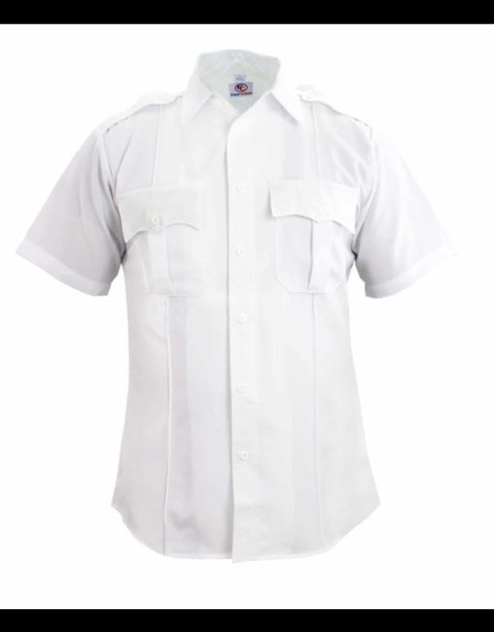 First Class Shirt White XL LS