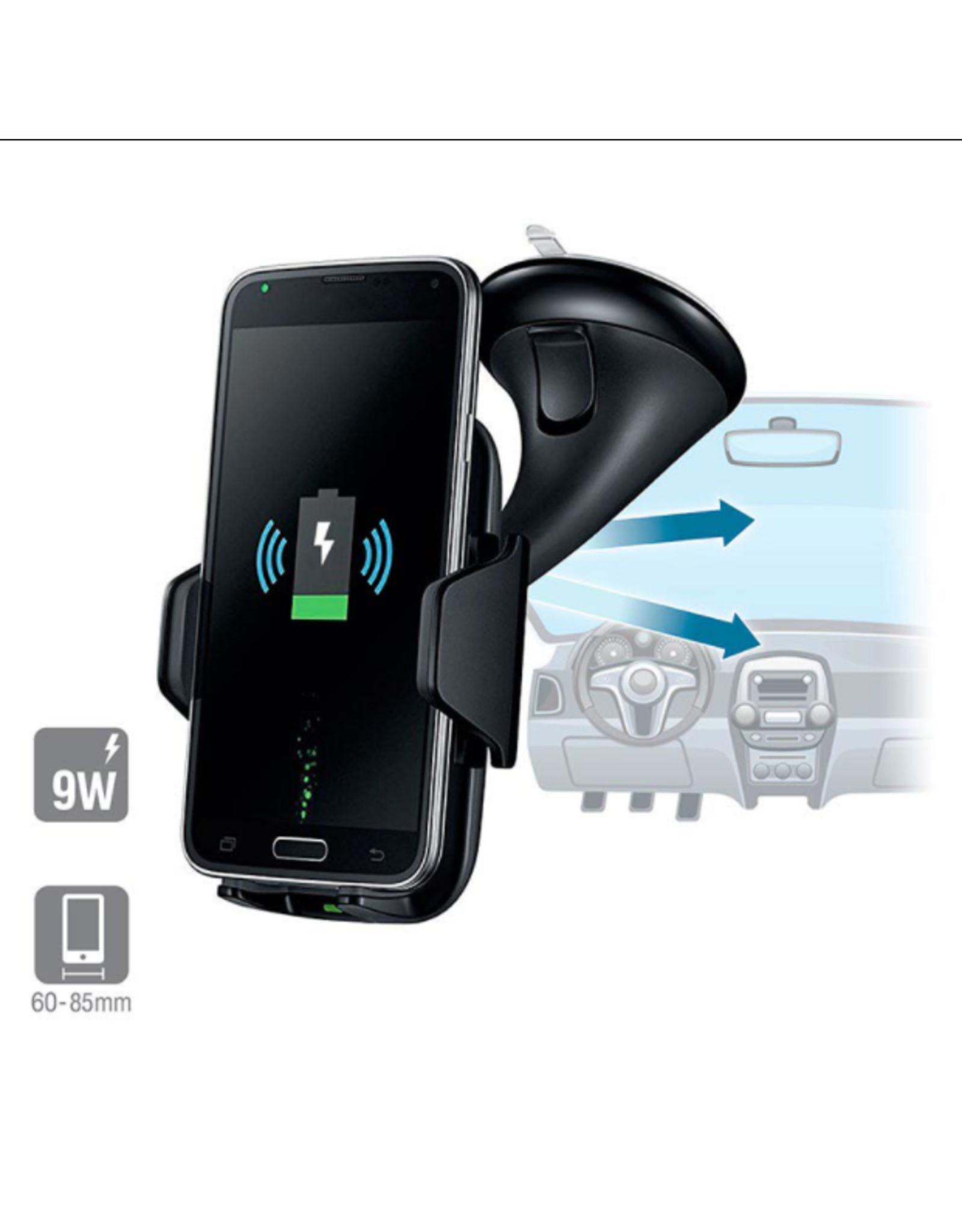 Street Wise Street Wise Wireless Car Charger and Holder