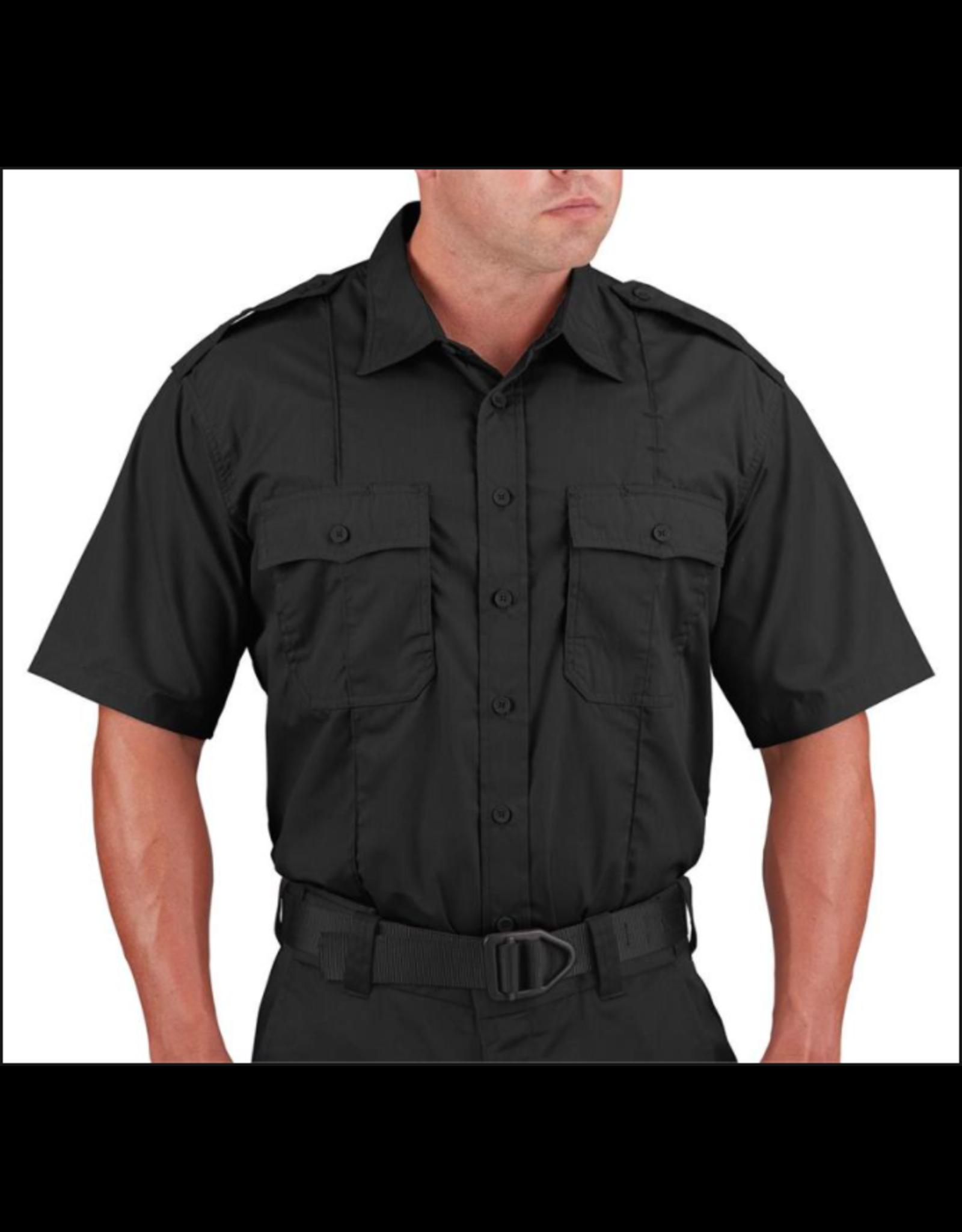 Propper Men's Class B Short Sleeve Shirt Black XL