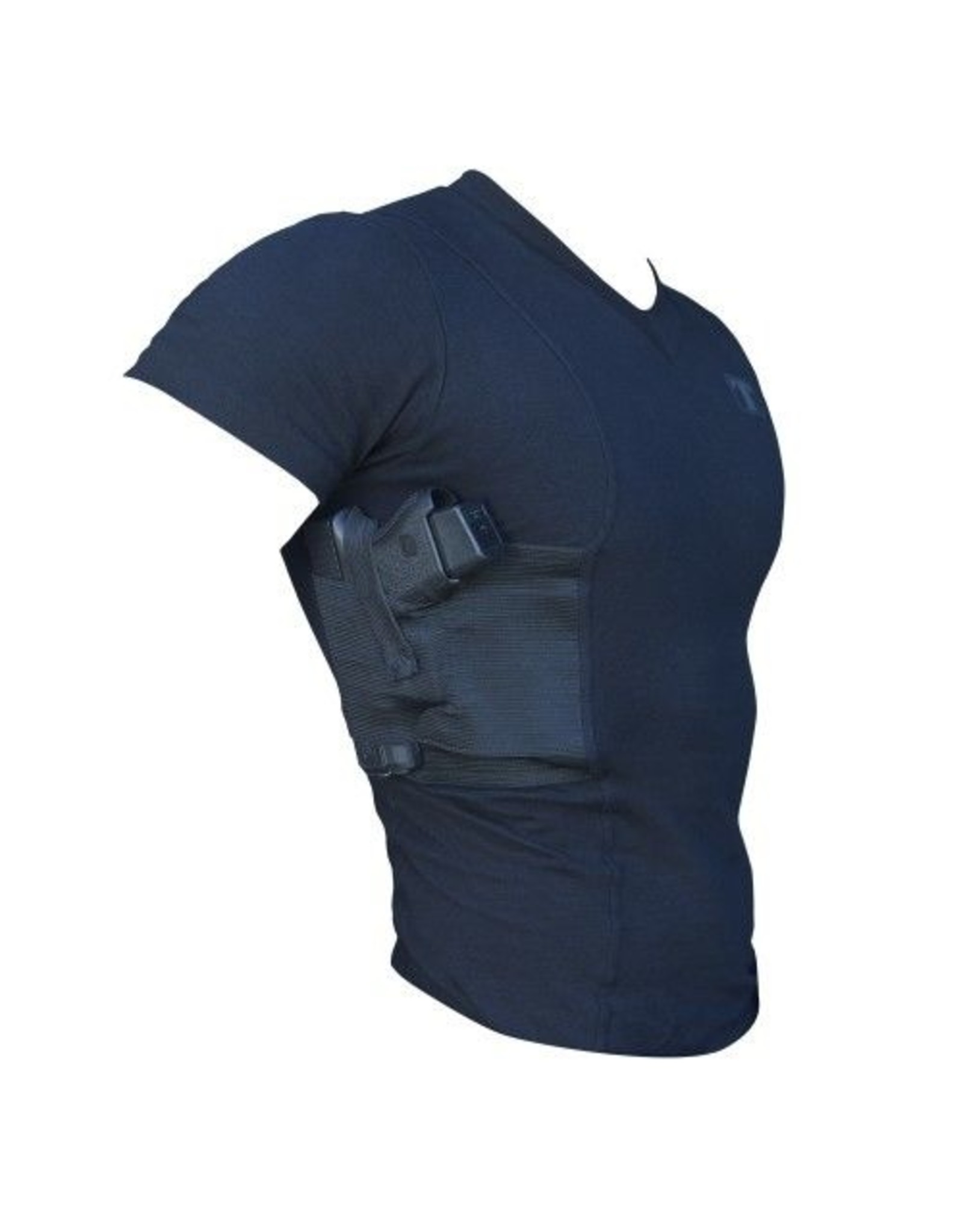 Tagua Tactical V-Neck Holster Spandex T-Shirt (size:M)