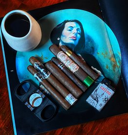 Cigar Art Smoke Break VIII Cigar Flight with Free Lighter