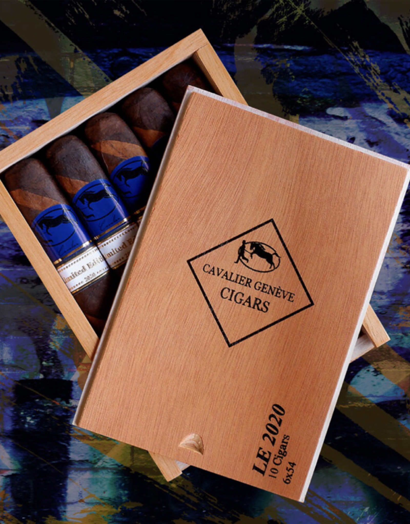 Cavalier Geneve Cavalier Geneve Blue Series Limited Edition 2020 Box of 10