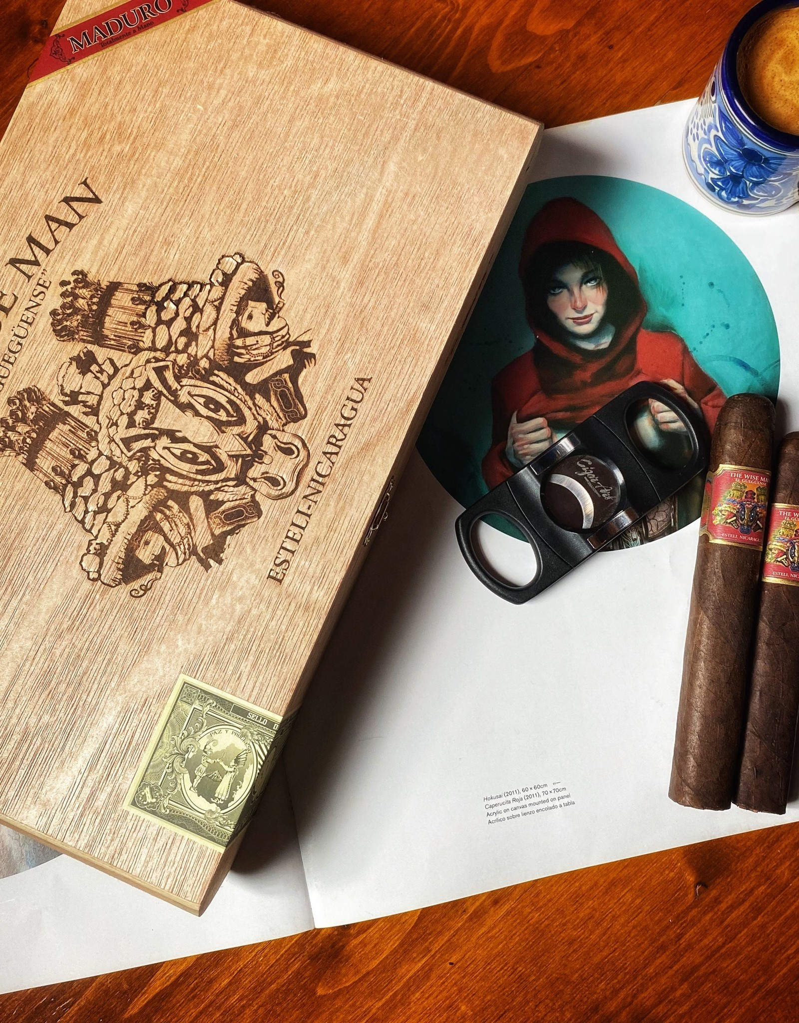 Foundation Foundation Wise Man Maduro Robusto 5.5 x 50 Single