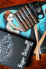 Black Label Trading Co Black Works Super Deluxe Robusto 5.25 x 52 Five Pack