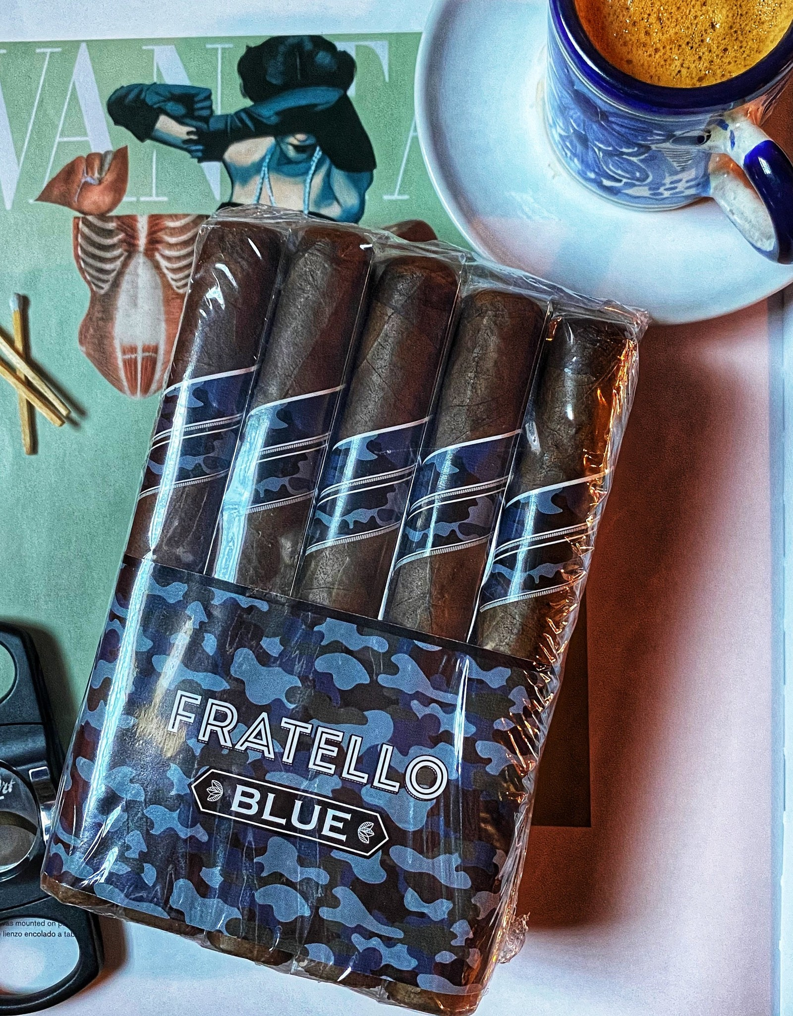 Fratello Fratello Blue Robusto 5 x 50 Bundle of 15