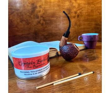 Captain Earle's Pipe Tobacco 10 Russians 2oz Tin