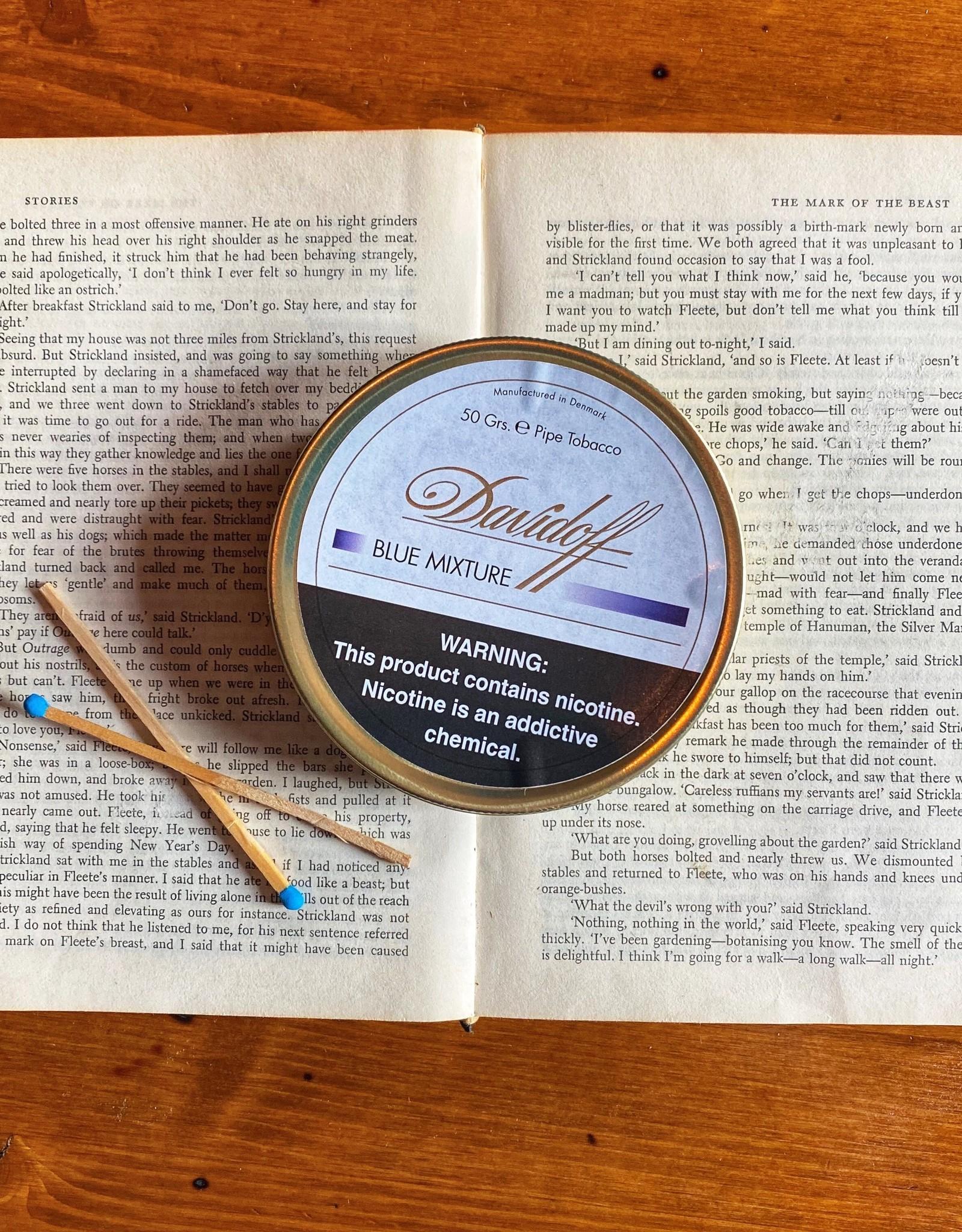 Davidoff Davidoff Blue Mixture Pipe Tobacco 50g Tin