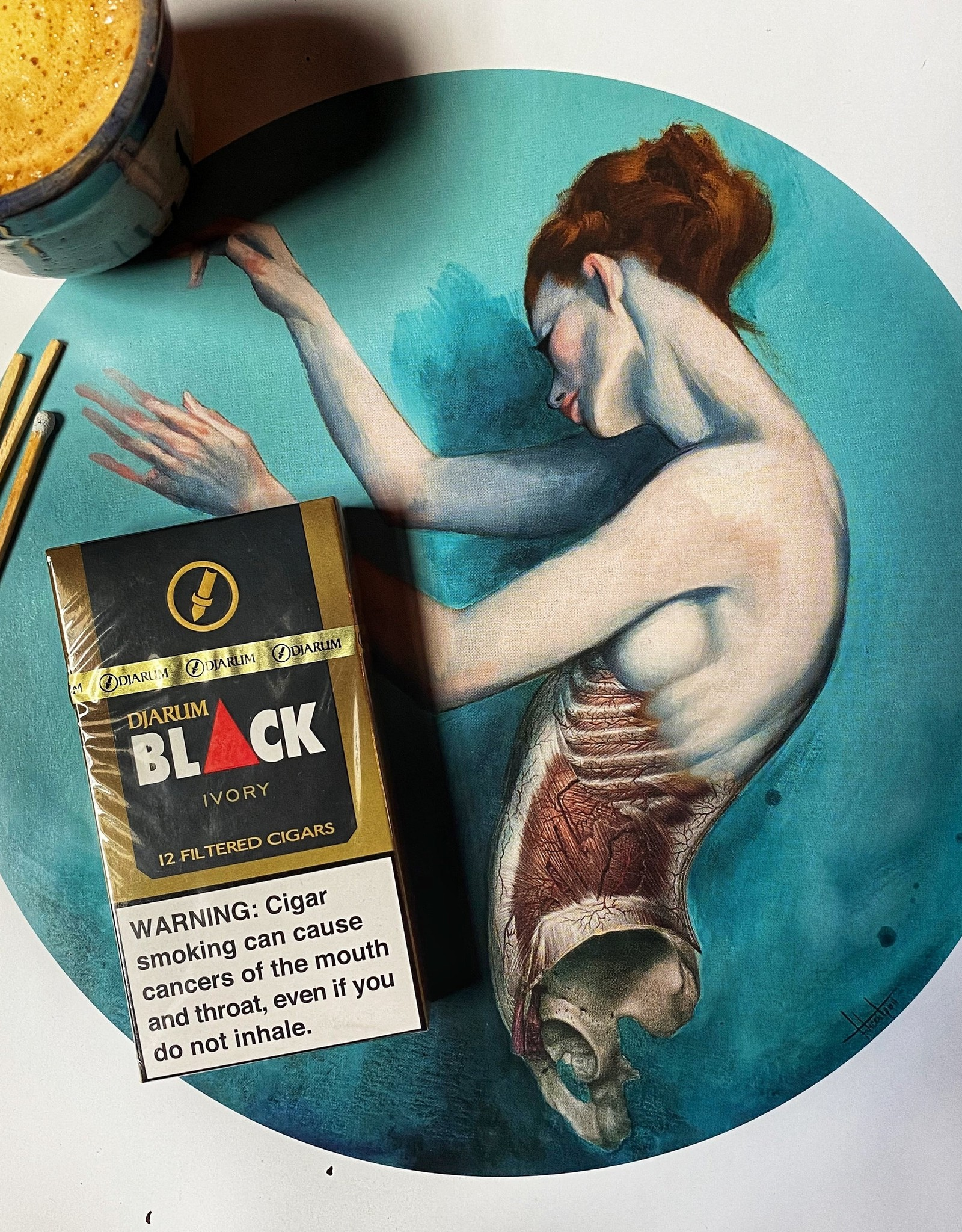 Djarum Djarum Black Ivory Filtered Cigarillos 3.5 x 18 Pack of 12