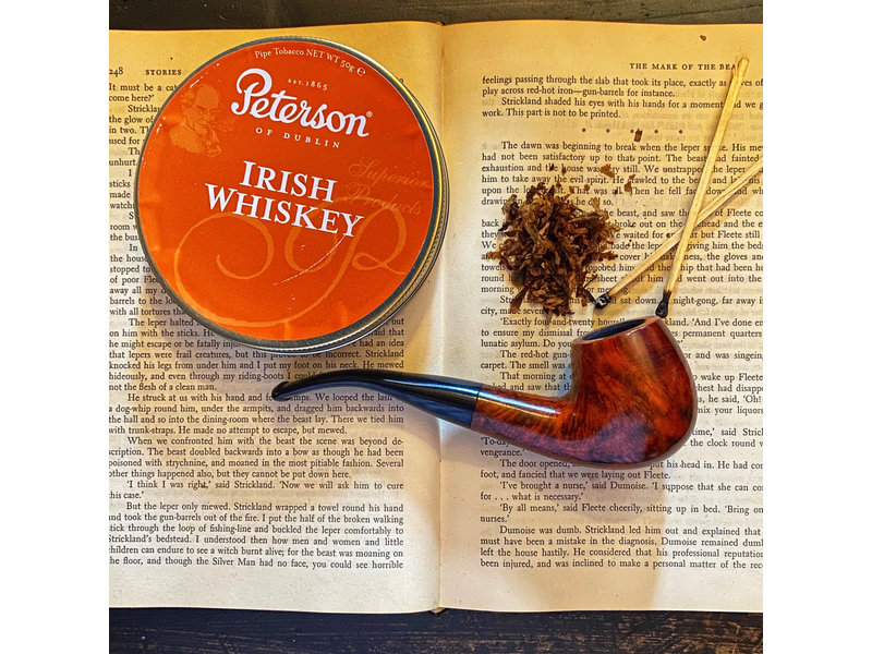 Peterson Pipe Tobacco Irish Whiskey 50g