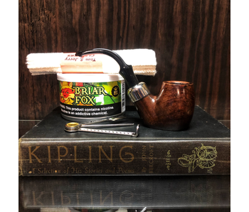 Briar Fox Pipe Kit with Peterson Pipe