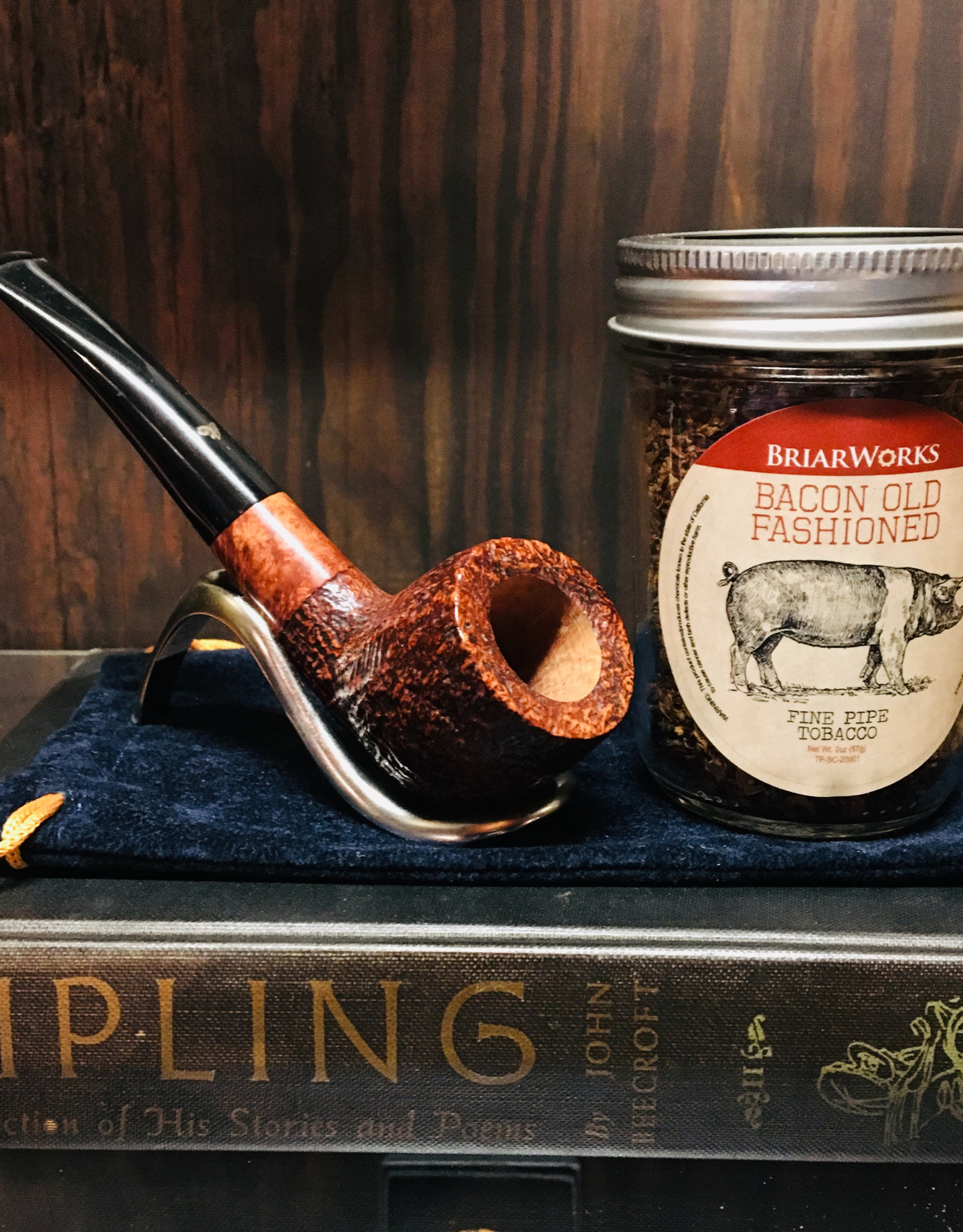 Briar Works Briar Works Pipe Tobacco Bacon Old Fashioned 2oz