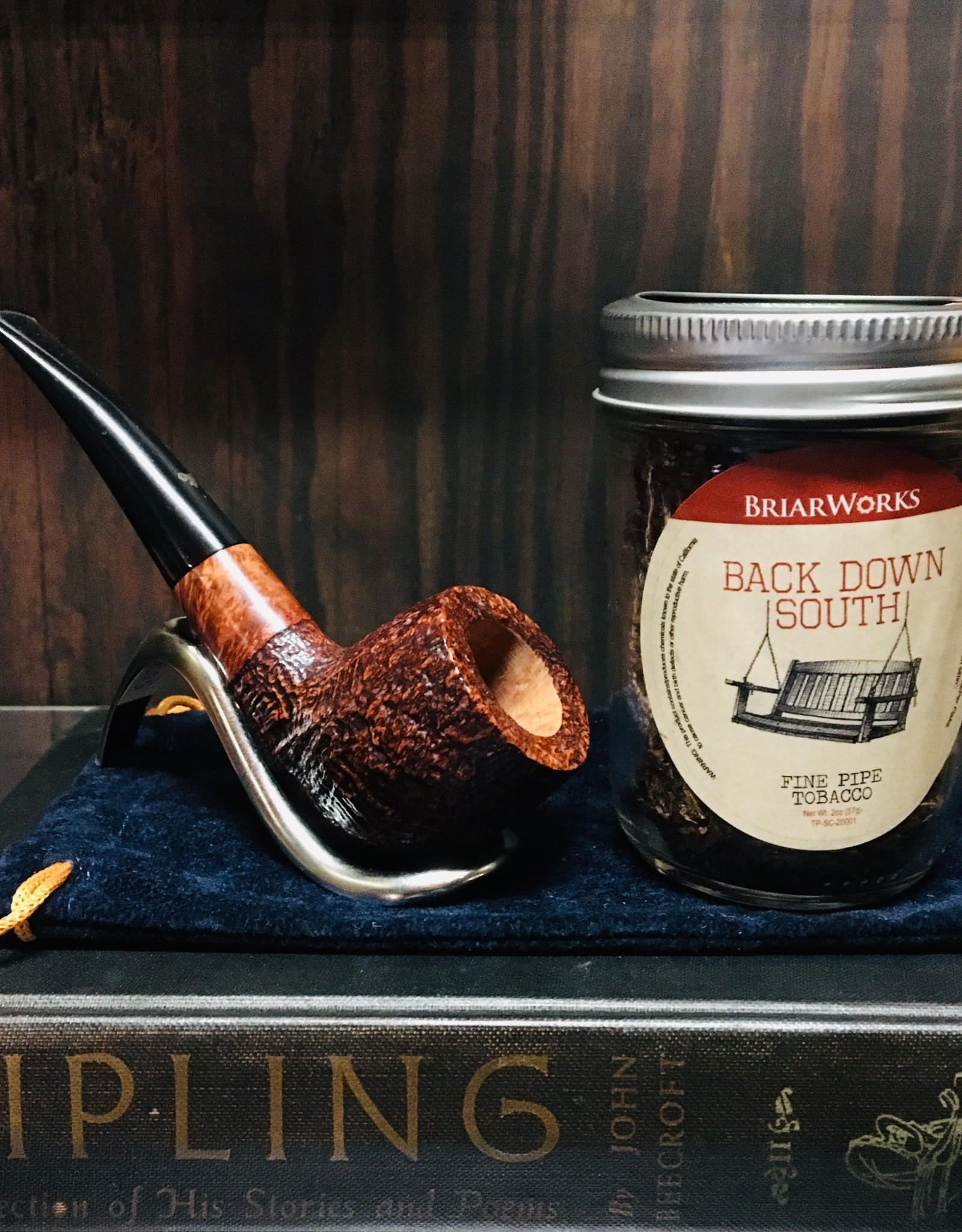 Briar Works Briar Works Pipe Tobacco Back Down South 2oz