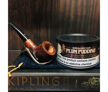 Seattle Pipe Club Pipe Tobacco Plum Pudding Special Reserve 4oz
