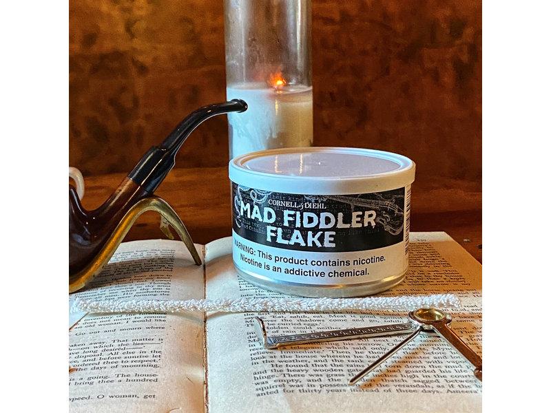 Cornell & Diehl Cornell & Diehl Pipe Tobacco Mad Fiddler Flake 2oz