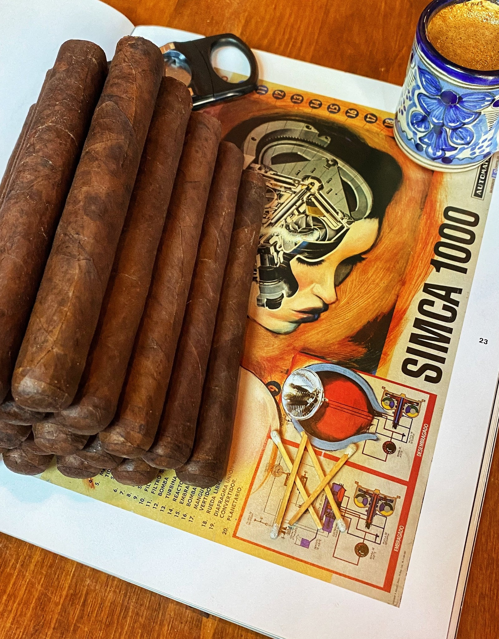 The Second Line Maduro Toro 6 x 50 Bundle of 20