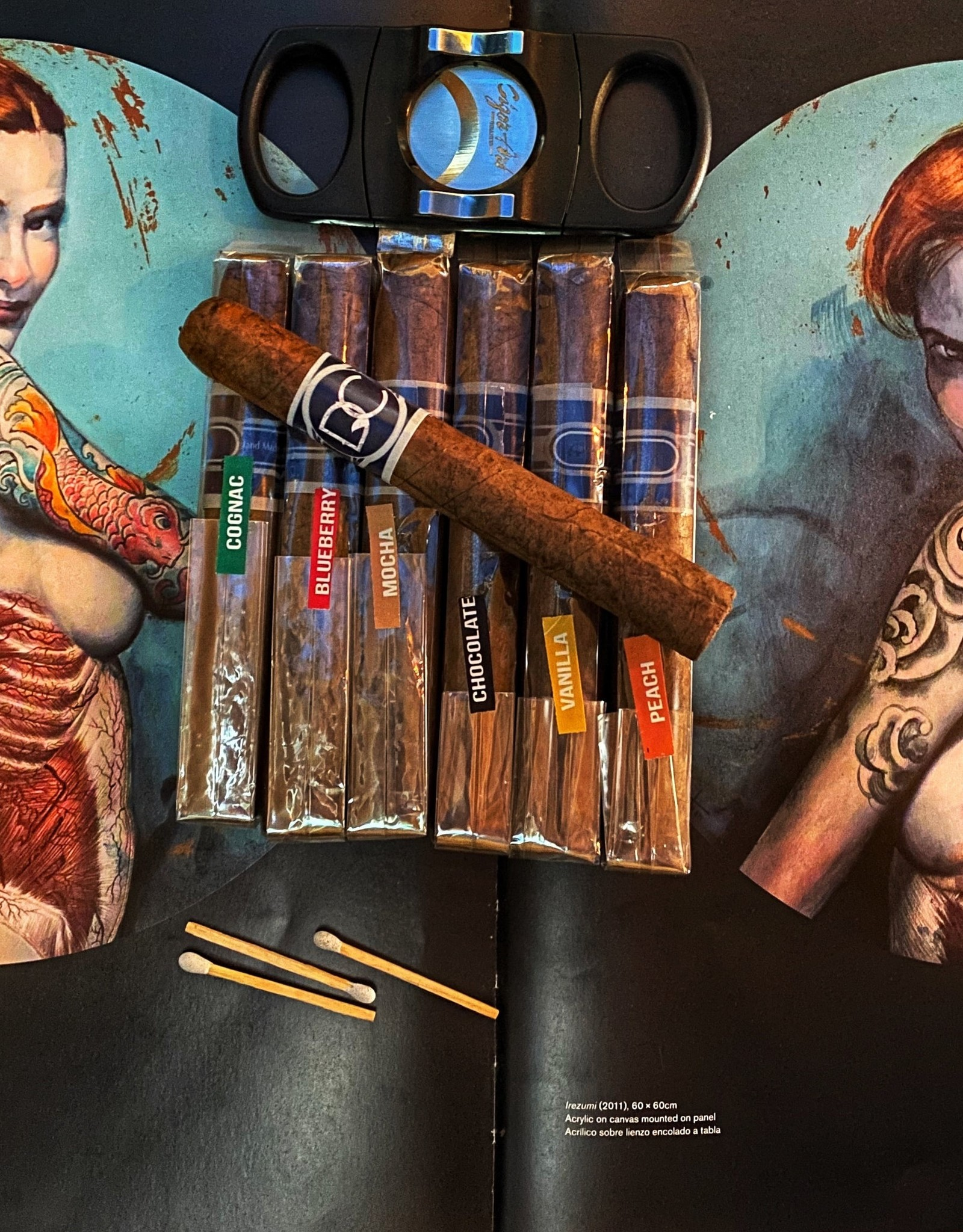 Definition Cigars Definition Infused Cigars Petite Corona 5 x 42 Cognac
