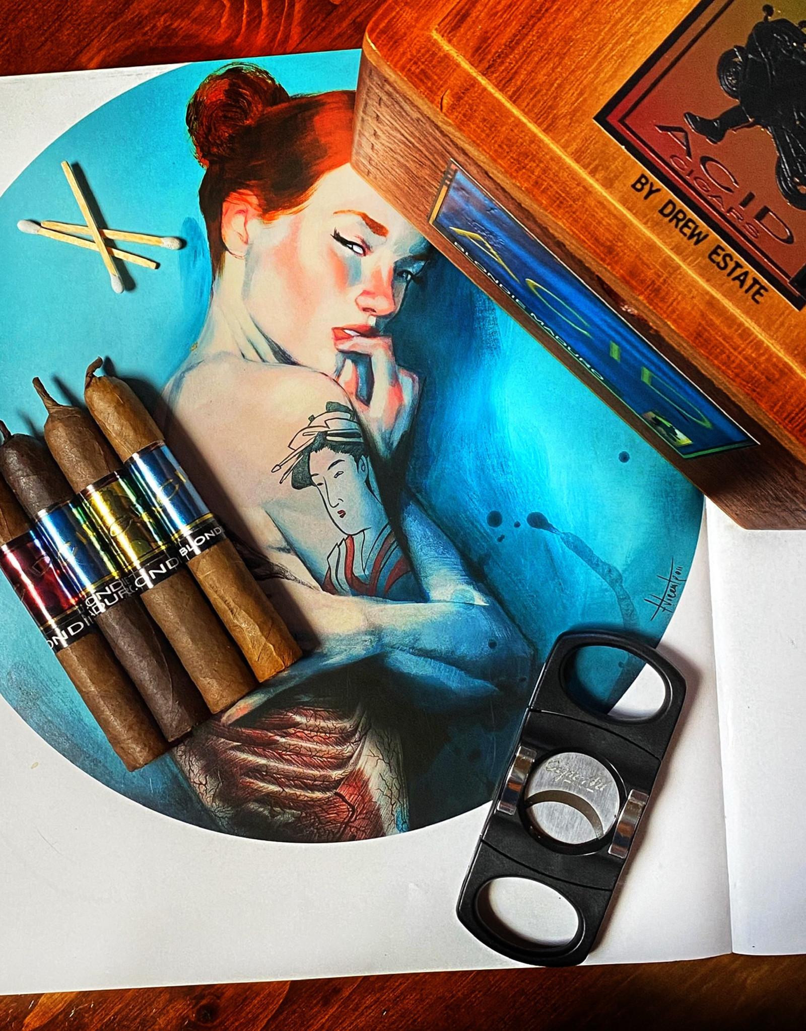Drew Estate Drew Estate Acid Blondie Candela Petite Corona 4 x 38 Single