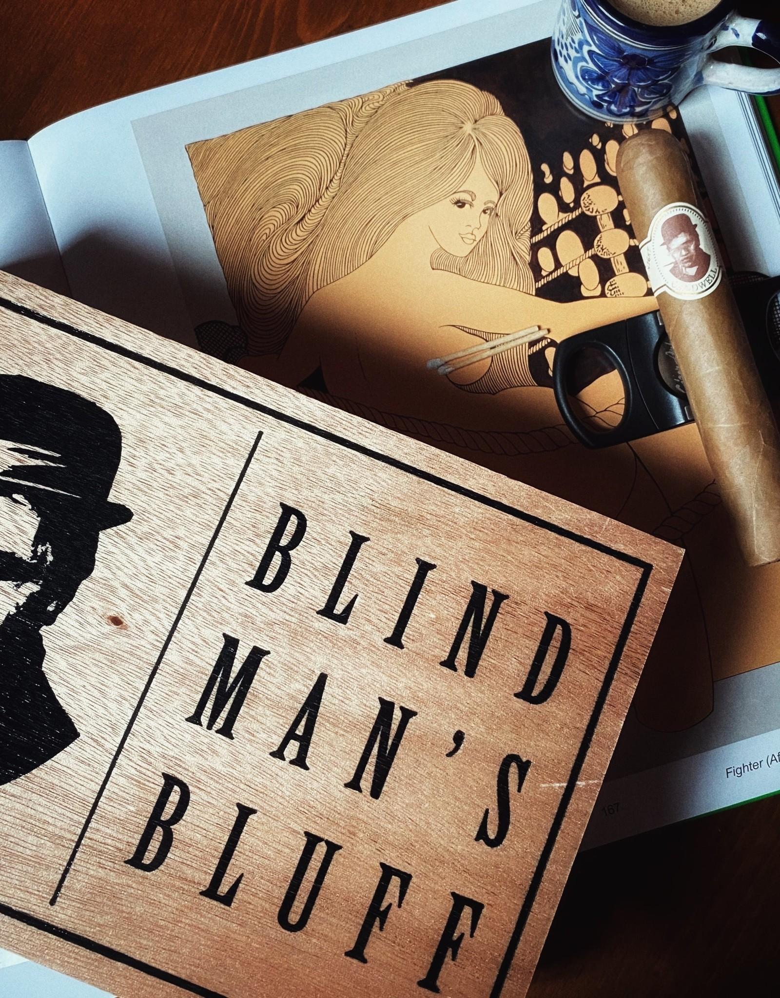 Caldwell Cigar Co Caldwell Blind Man's Bluff Connecticut 6 x 60 Single