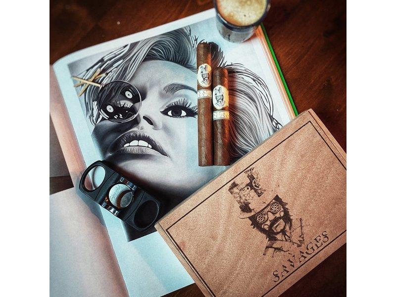 Caldwell Cigar Co Caldwell Savages Super Rothschild 4.75 x 52 Box of 10