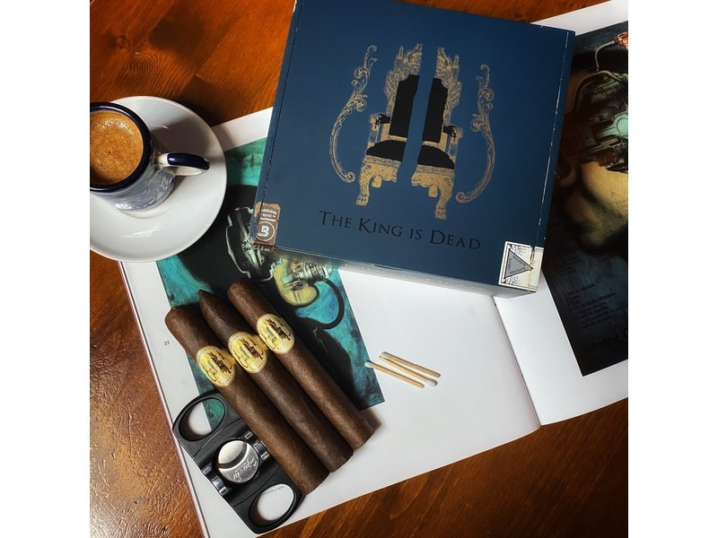 Caldwell Cigar Co Caldwell The King Is Dead Premier 5.5 x 50 Single