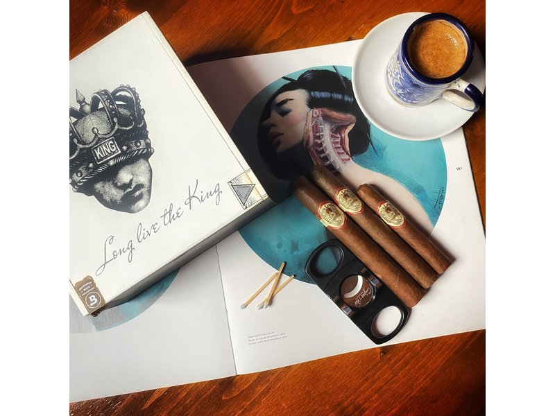Caldwell Cigar Co Caldwell Long Live The King Manzanita 4 x 42 Single