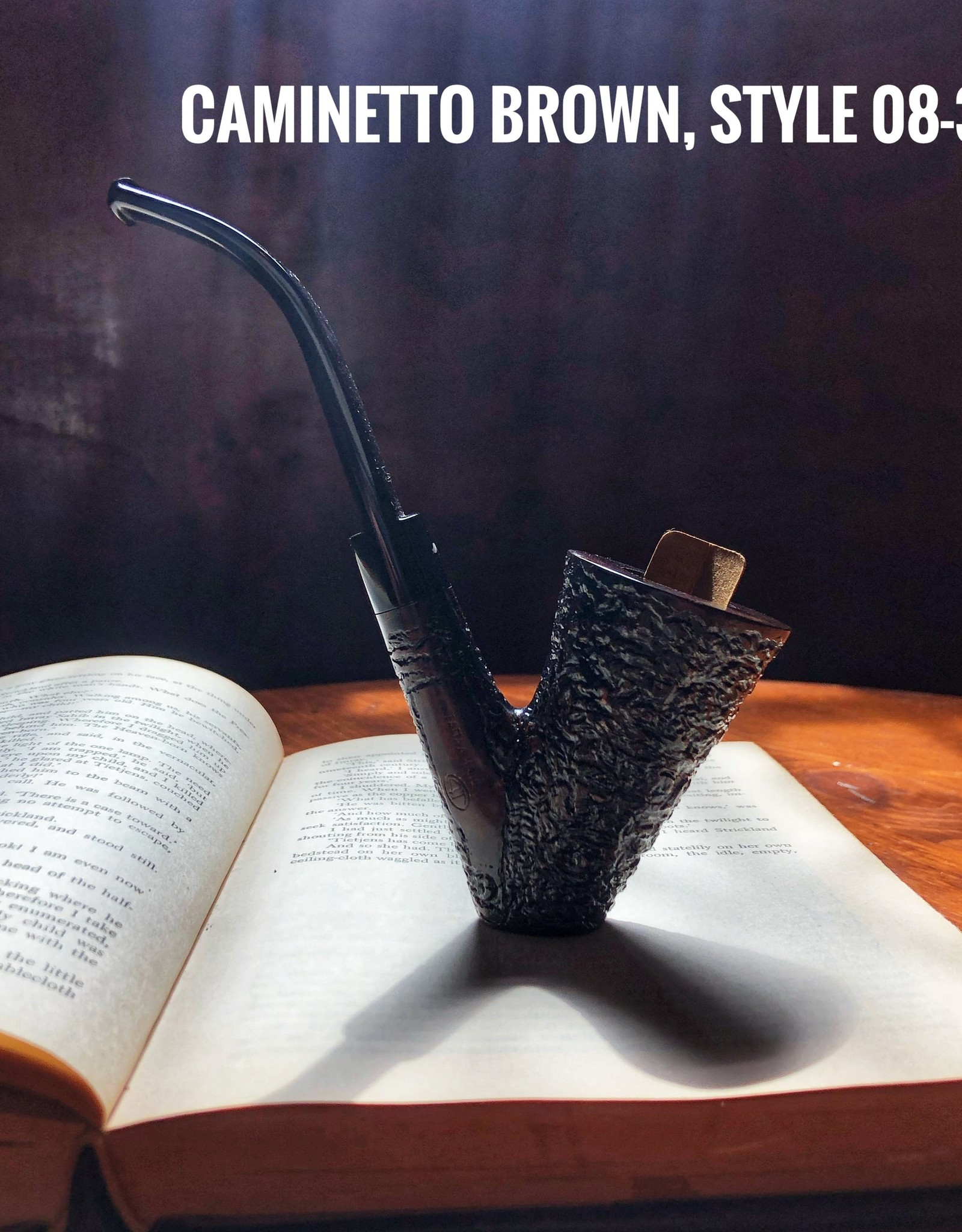 Caminetto Caminetto Pipes Brown Rusticated 08-37