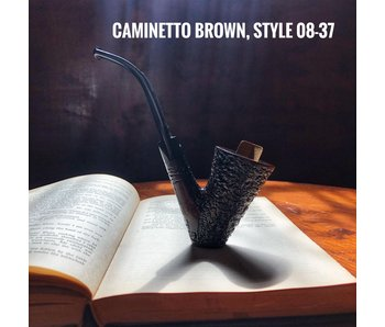 Caminetto Pipes Brown Rusticated 08-37