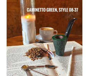 Caminetto Pipes Green Rusticated 08-37