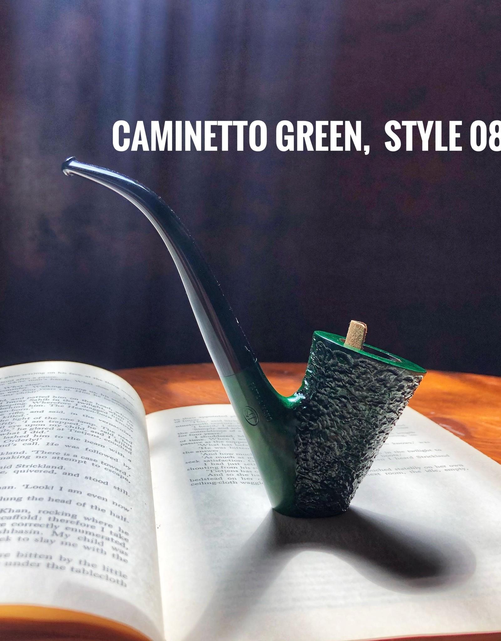 Caminetto Caminetto Pipes Green Rusticated 08-37