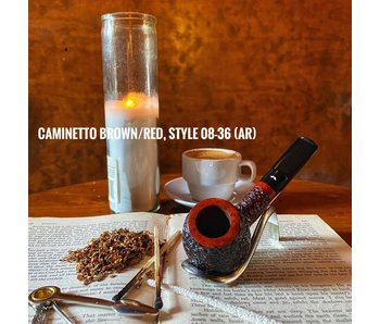 Caminetto Pipe Brown/Red 08-36