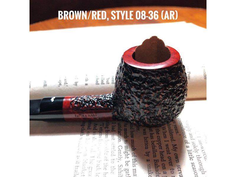 Caminetto Caminetto Pipe Brown/Red 08-36