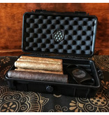 Phillips & King Humidors Hard Shell 5-10 Cigar Travel Case