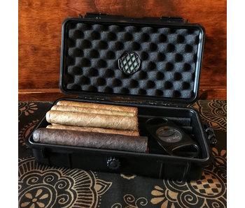 Humidors Hard Shell 5-10 Cigar Travel Case