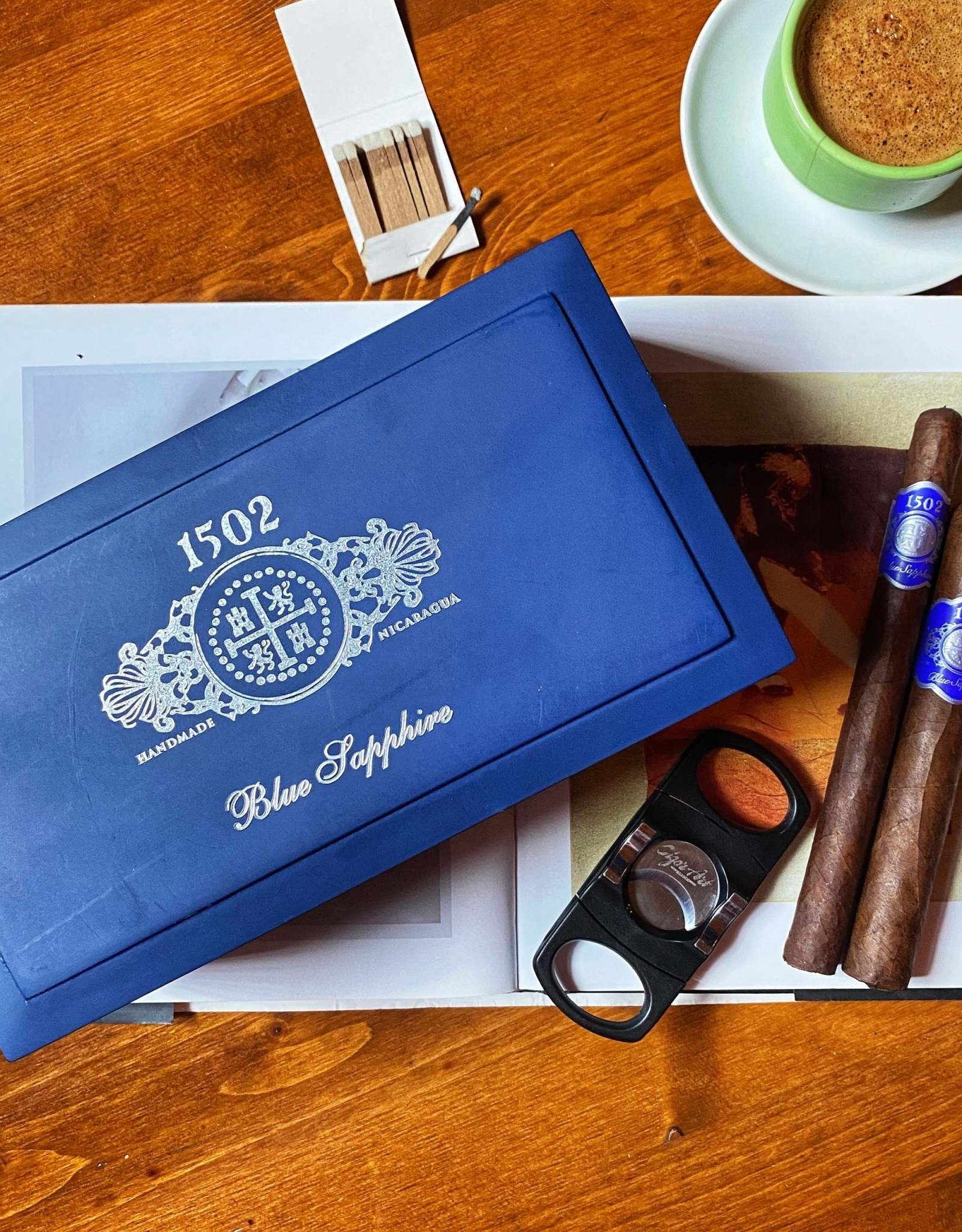 1502 Cigars 1502 Blue Sapphire Lancero 7 x 38