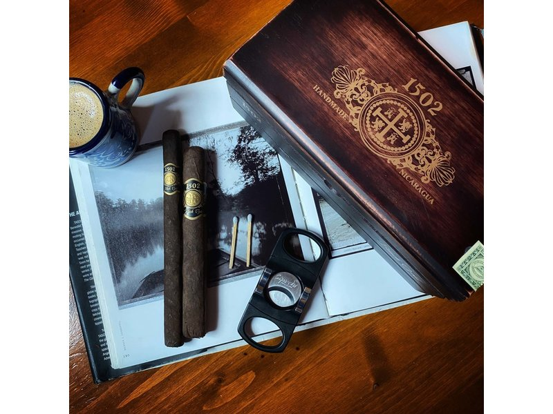 1502 Cigars 1502 Black Gold Lancero 7 x 38