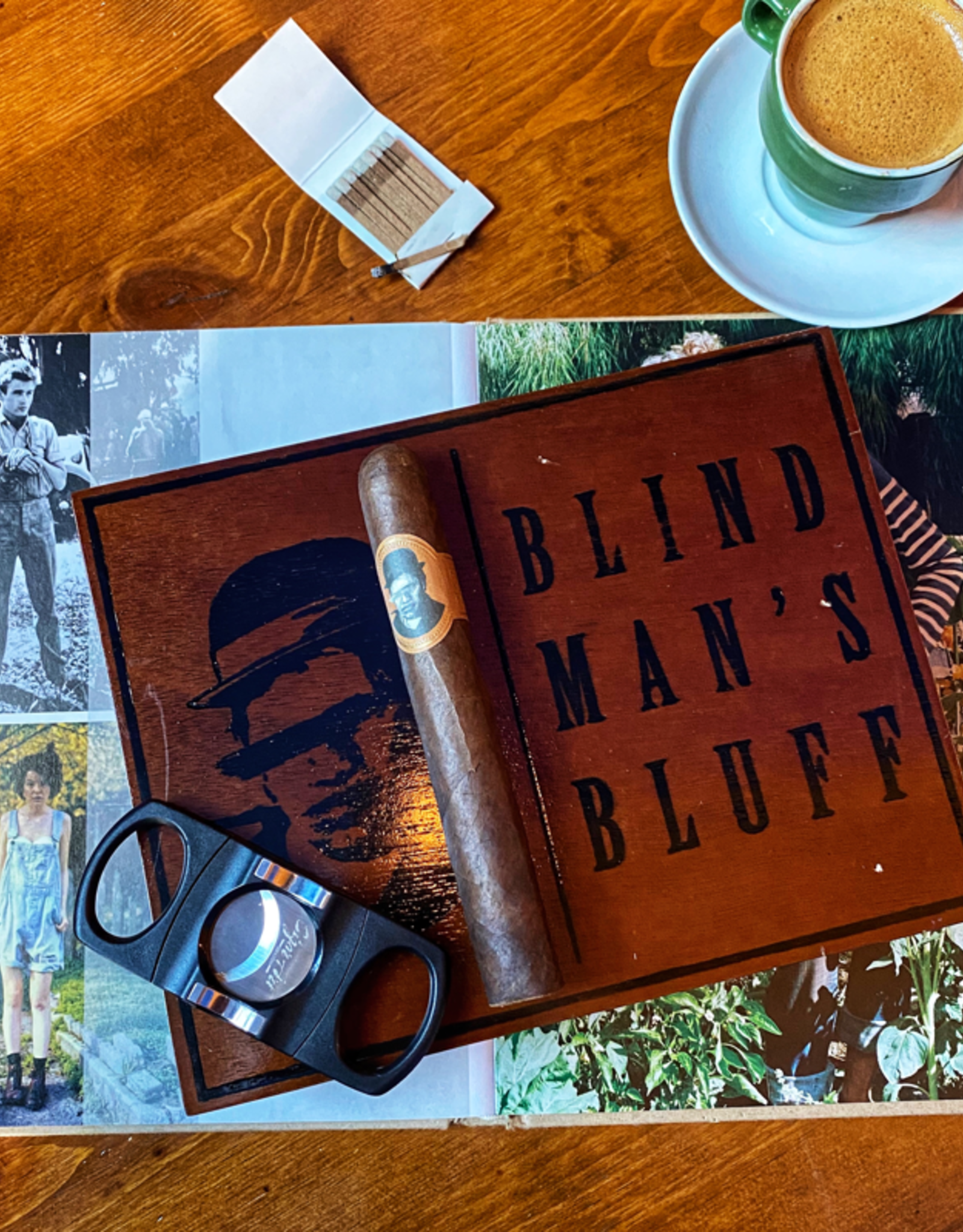 Caldwell Cigar Co Blind Man's Bluff Habano Toro 6 x 52