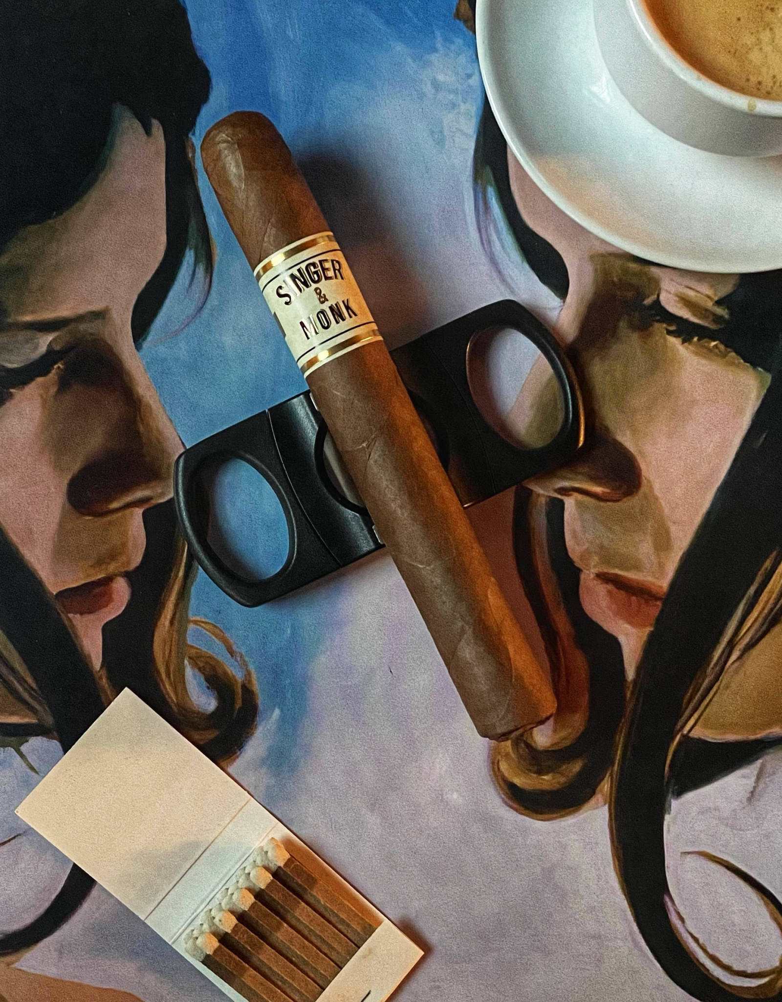 Cigar Art Cigar Art Singer & Monk Habano Toro