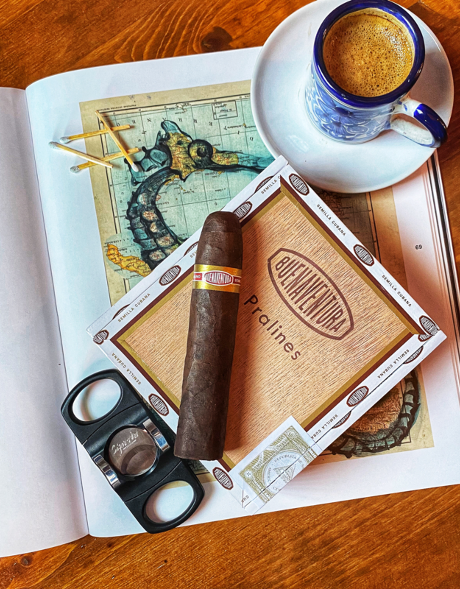 Curivari Cigars Buenaventura Pralines 460 BP Belicoso 4 x 60