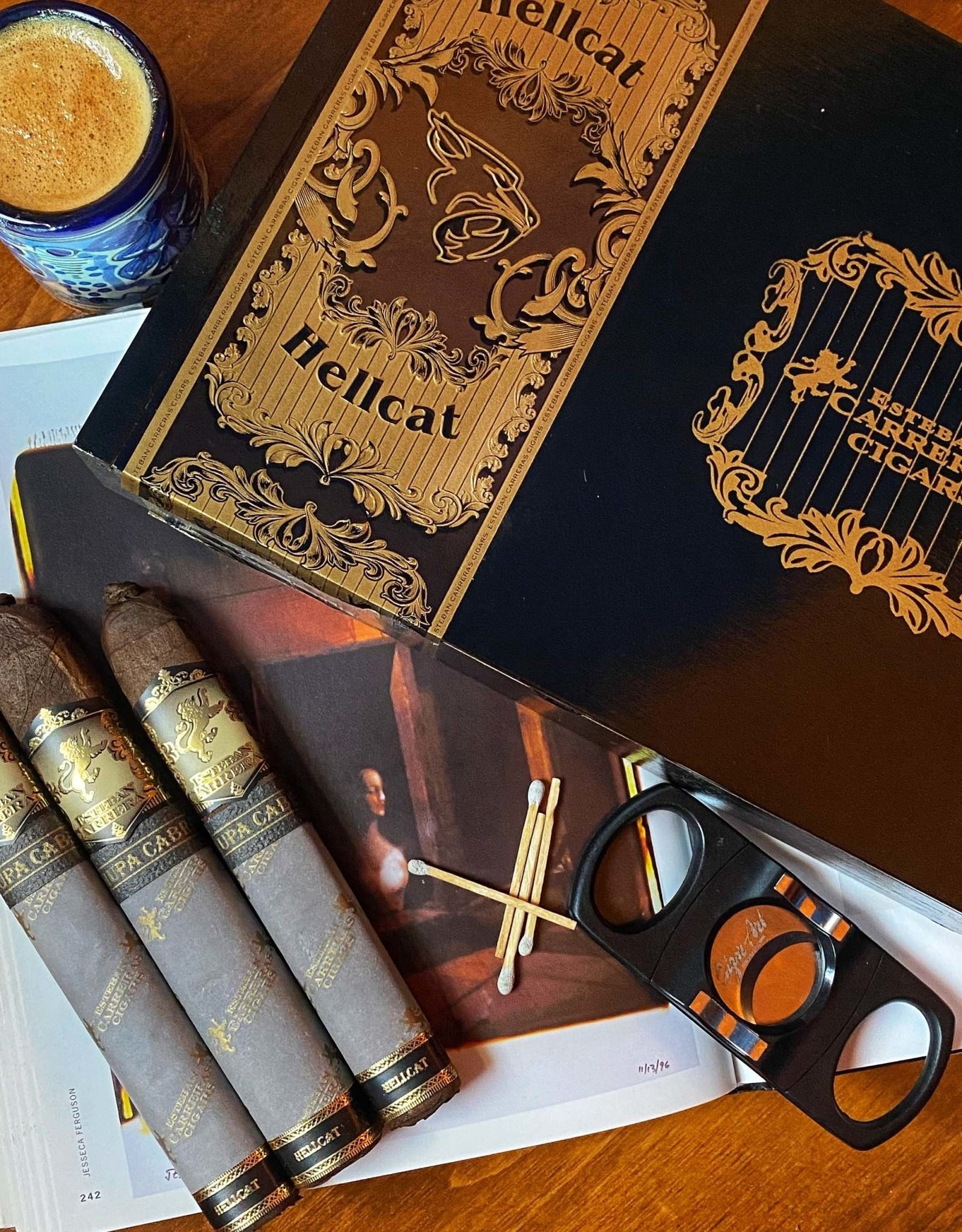 Esteban Carreras Esteban Carreras Chupacabra Hellcat Box Pressed Robusto Grande 5.5 x 54