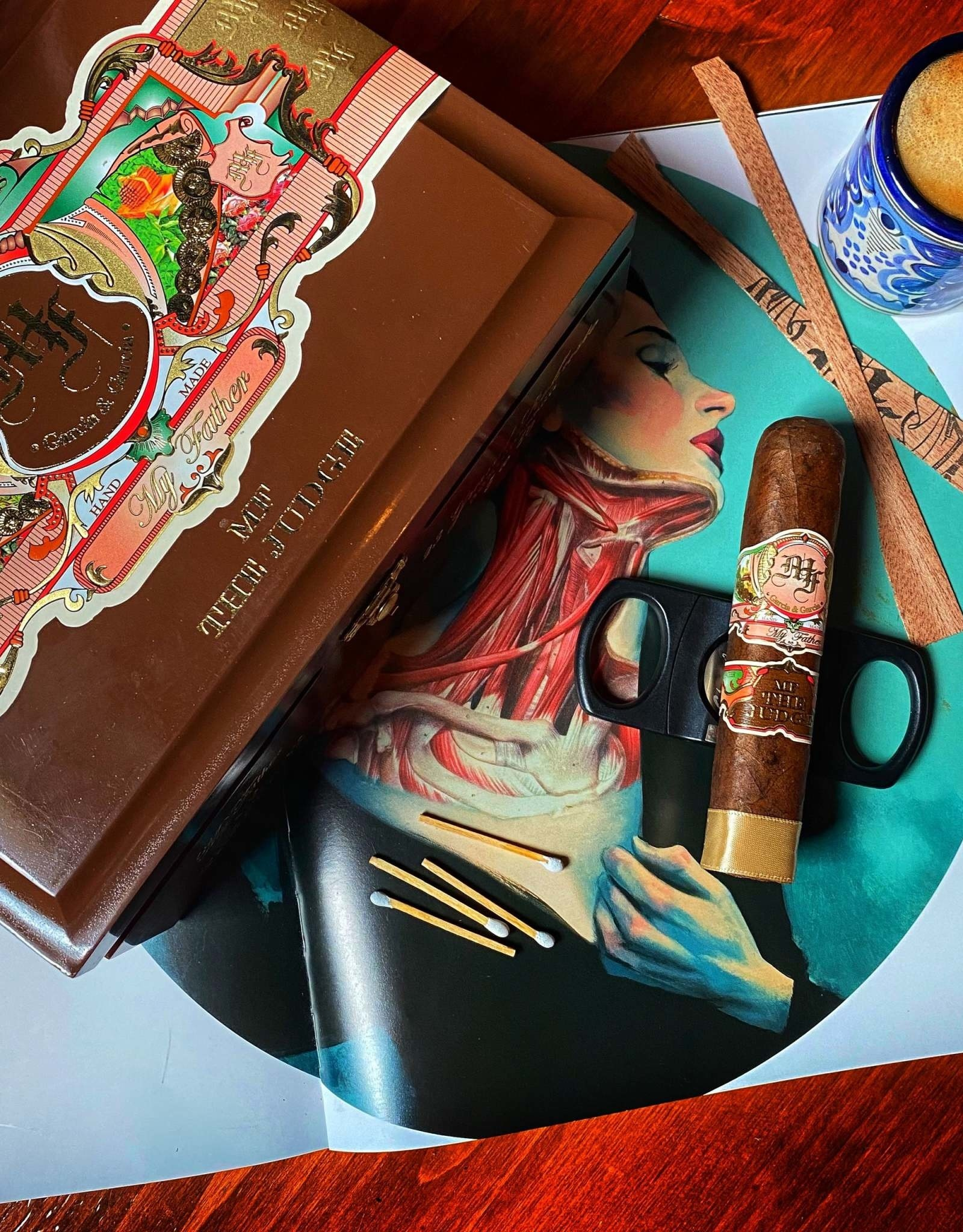 My Father Cigars My Father The Judge Toro 6 x 56