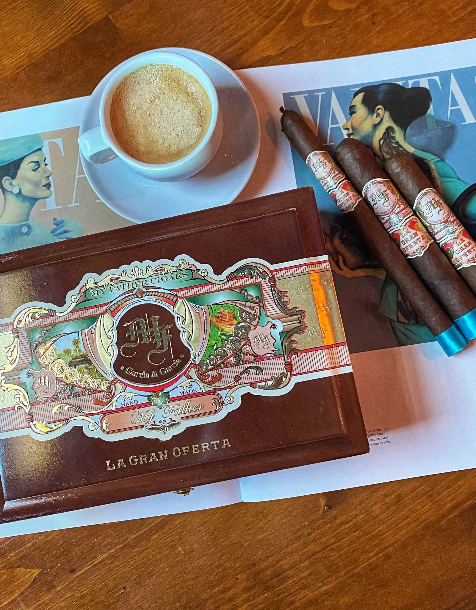 My Father Cigars My Father La Gran Oferta Robusto 5 x 50
