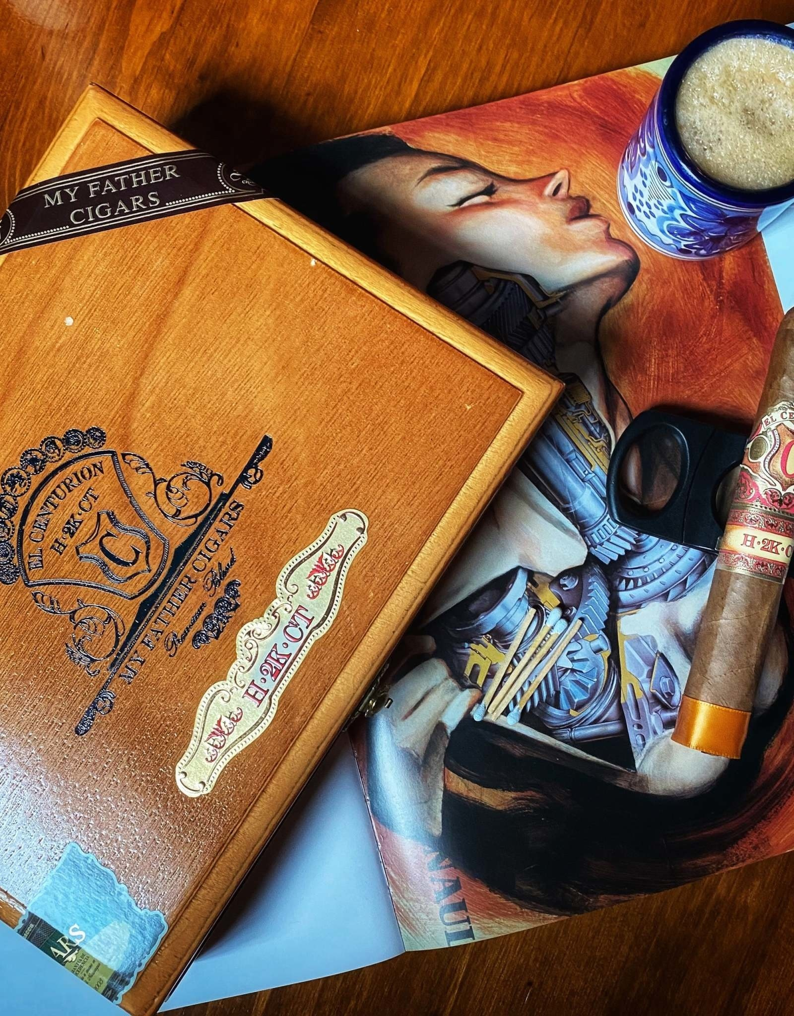 My Father Cigars My Father El Centurian H2K Box Pressed Toro 6 x 52