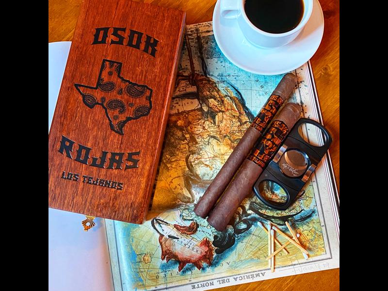 Rojas Cigars OSOK x Rojas Los Tejanos Mareva 5 x 42
