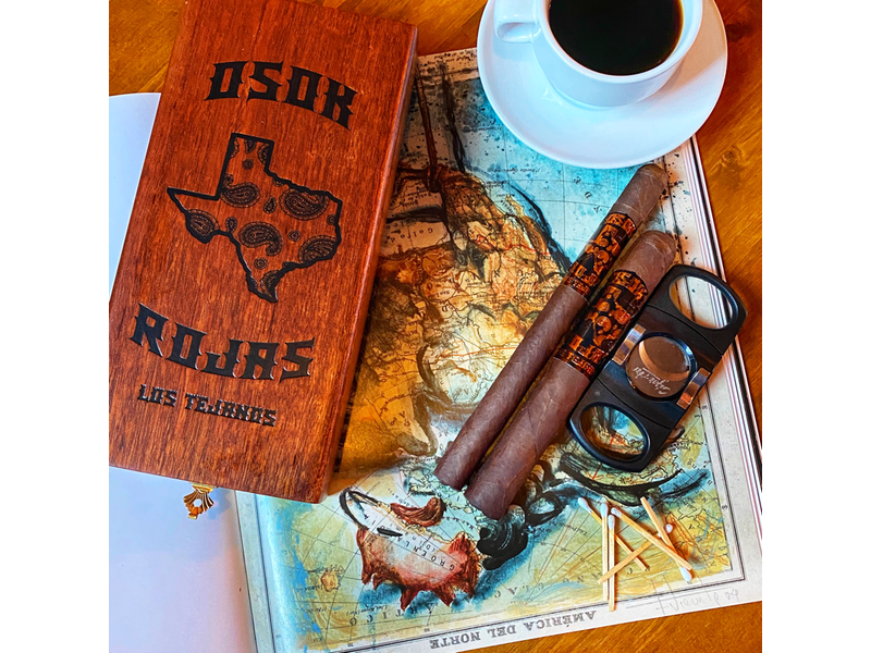 Rojas Cigars OSOK x Rojas Los Tejanos Toro 6 x 50
