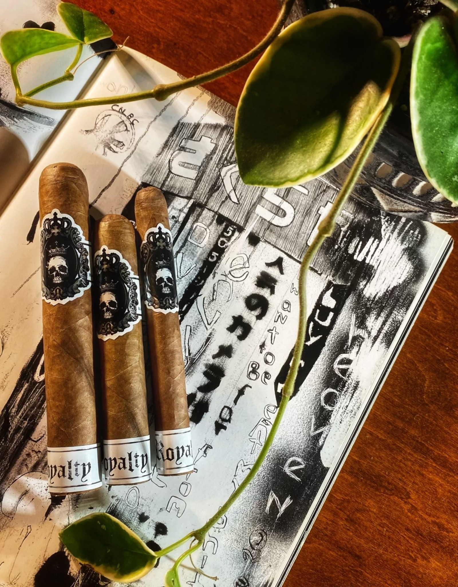Black Label Trading Co BLTC Royalty Robusto 5 x 54