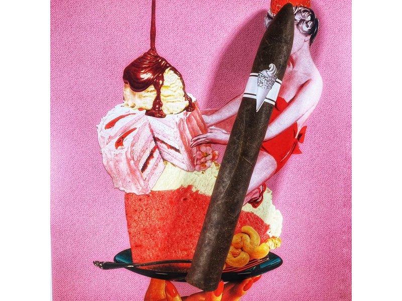 Privada Cigar Club Ice Cream Vanilla Chocolate Swirl Maduro Doble Torpedo